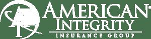 American Integrity logo - White